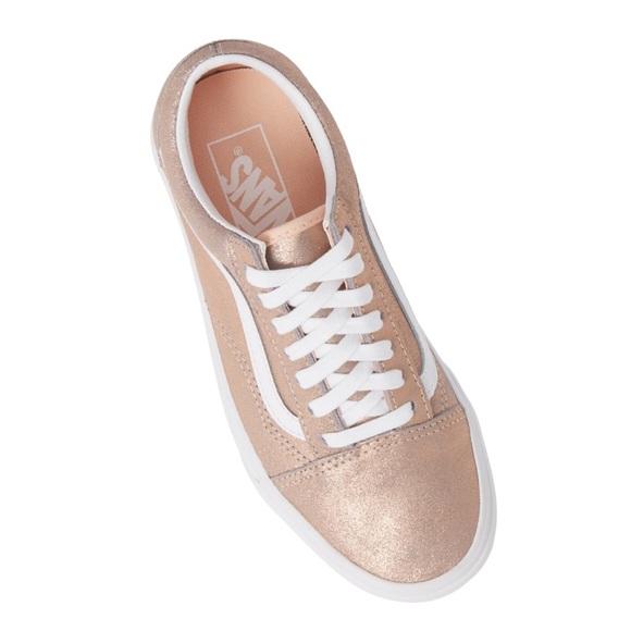 Vans Shoes | New Rose Gold Ua Old Skool